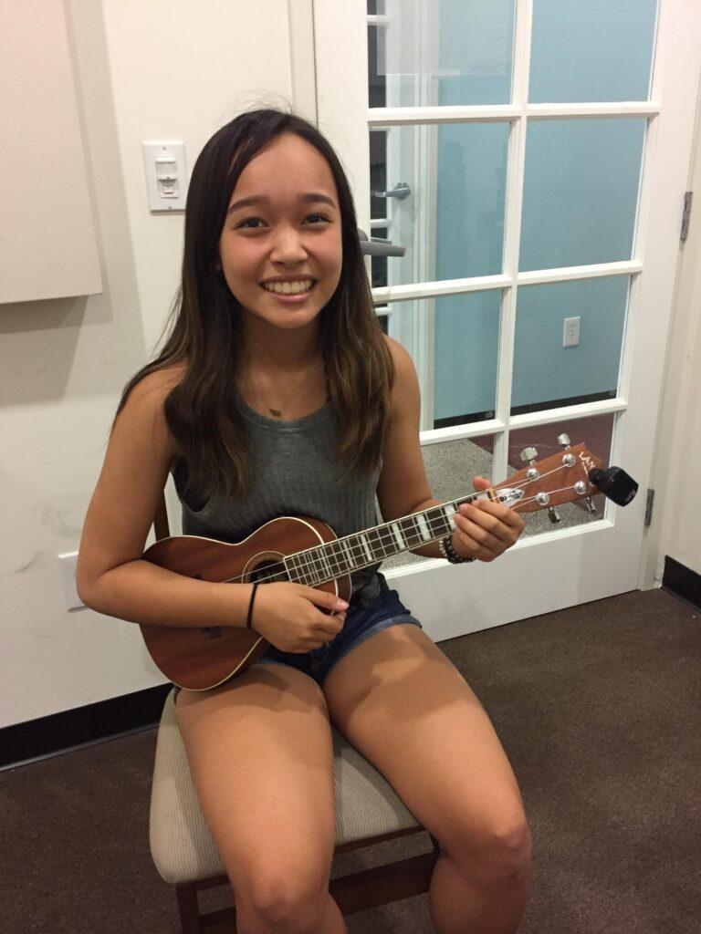 My first ukulele