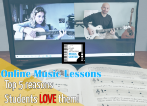 Top 5 Reasons Why Students Like Online Music Lessons