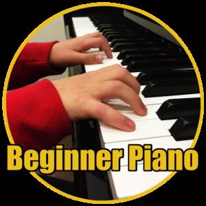 Beginner piano class image