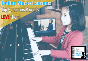 Top 5 Reasons Parents Like Online Music Lessons