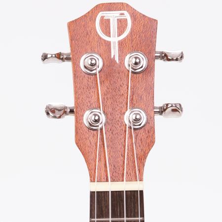 Teton soprano ukulele headstock.